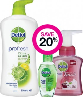 Save-20-on-Selected-Dettol-Products on sale
