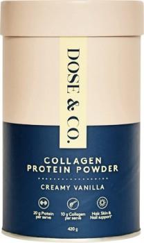 Dose-Co-Vanilla-Protein-Collagen-Powder-420g on sale