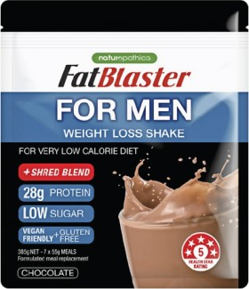Fat-Blaster-For-Men-Chocolate-Pouch-385g on sale
