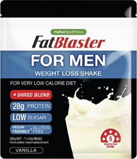 Fat-Blaster-For-Men-Vanilla-Pouch-385g on sale