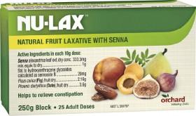 Nu-Lax-Fruit-Laxative-Block-250g on sale
