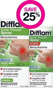 Save-25-on-Selected-Difflam-Sore-Throat-Sprays on sale