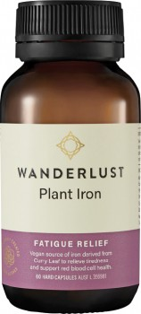 Wanderlust-Plant-Iron-60-Capsules on sale