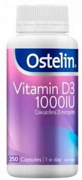 Ostelin-Vitamin-D3-1000IU-250-Capsules on sale