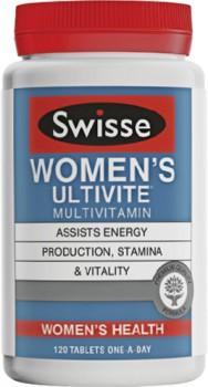 Swisse-Womens-Ultivite-120-Tablets on sale