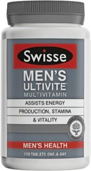 Swisse-Mens-Ultivite-120-Tablets on sale