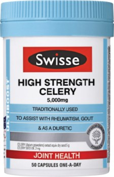 Swisse-High-Strength-Celery-5000mg-50-Capsules on sale