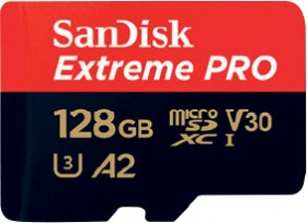 SanDisk-128GB-Extreme-PRO-MicroSDXC-Memory-Card on sale