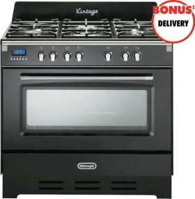DeLonghi-90cm-Dual-Fuel-Upright-Cooker on sale