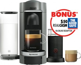 Nespresso-DeLonghi-Vertuo-Plus-Bundle-Titan on sale