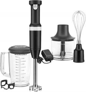 NEW-KitchenAid-Cordless-Hand-Blender-Black-Matte on sale