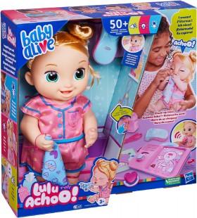 NEW-Baby-Alive-Lulu-Achoo-Baby-Doll-Blonde-Hair on sale