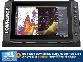 Lowrance-Elite-FS-9-Sounder on sale