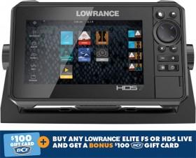 Lowrance-HDS-7-Live-Sounder on sale
