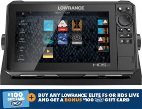 Lowrance-HDS-9-Live-Sounder on sale