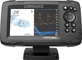 Lowrance-Hook-Reveal-5X-GPS-Fish-Finder on sale