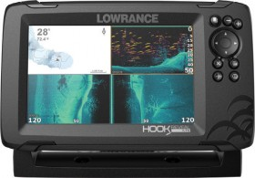 Lowrance-Hook-Reveal-7X-GPS-Fish-Finder on sale