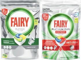 Fairy-Platinum-Dishwashing-Tablets-52-Pack-or-Platinum-Plus-42-Pack on sale