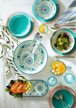 Heritage-Rustic-Swirl-Melamine-Dinnerware on sale