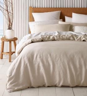 Australian-House-Garden-Sandy-Cape-Washed-Belgian-Linen-Quilt-Cover-Set-in-Moonbeam on sale