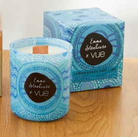 Emma-Stenhouse-X-Vue-Scented-Candle-Blue-Meeting-Place on sale