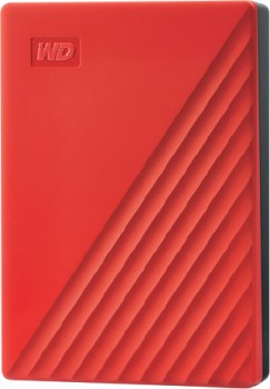 WD-4TB-My-Passport-Portable-Hard-Drive-Red on sale