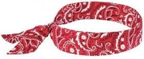 Ergodyne-Cooling-Bandanas-Red-Western on sale