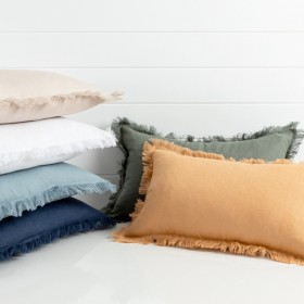 Sahara-Linen-Oblong-Cushion-by-MUSE on sale