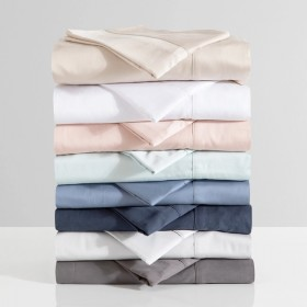 400-Thread-Count-Bamboo-Cotton-Sheet-Set-by-Habitat on sale
