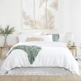 Laguna-Palm-Quilt-Cover-Set-by-Habitat on sale
