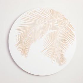 Round-Palm-Carved-Wall-Art-by-MUSE on sale
