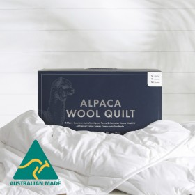 AlpacaWool-350gsm-Quilt-by-MUSE on sale