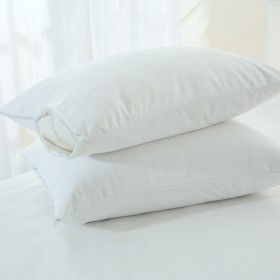 Waterproof-Towelling-Pillow-Protector-by-Cotton-Soft on sale