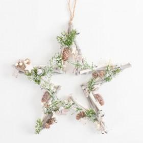 Stella-Star-Wreath-by-Habitat on sale