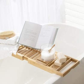 Botanic-Bamboo-Extendable-Bath-Caddy-by-MUSE on sale