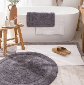 Resort-Reversible-Round-Bath-Mat-by-MUSE on sale