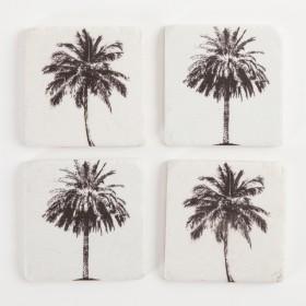 Bramton-Palms-Coaster-4-Pack-by-Searles on sale
