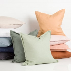 Sahara-Linen-Feather-Cushion-by-MUSE on sale