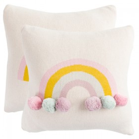 Kids-Rainbow-Cushion-by-Pillow-Talk on sale