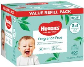 Huggies-400-Pack-Wipes-Fragrance-Free on sale