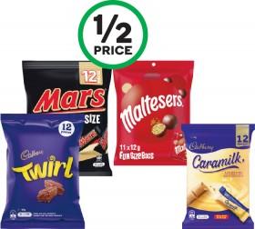 Cadbury-Medium-Sharepacks-144-180g-Pk-10-12-or-Mars-Medium-Sharepacks-132-216g-Pk-12-18 on sale