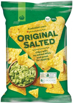 Woolworths-Corn-Chips-200g on sale