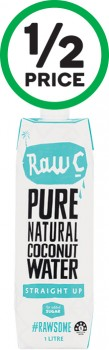 Raw-C-Coconut-Water-1-Litre on sale