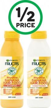 Garnier-Fructis-Hair-Food-Shampoo-or-Conditioner-350ml on sale