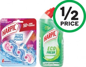Harpic-Fresh-Power-In-The-Bowl-Toilet-Cleaner-Pk-1-or-Toilet-Liquid-500ml on sale