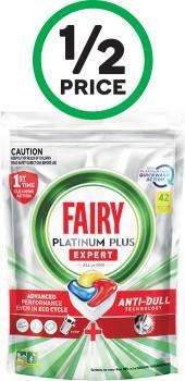 Fairy-Platinum-Plus-Dishwashing-Tablets-Pk-42 on sale