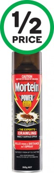 Mortein-Powergard-Crawling-Insect-Killer-350g on sale