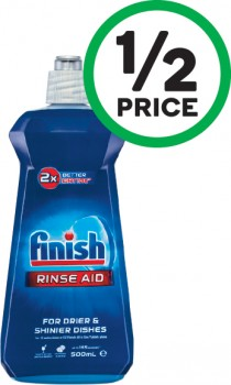 Finish-Dishwasher-Rinse-Aid-500ml on sale