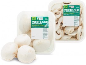 Australian-Cup-or-Sliced-Mushrooms-200g-Pack on sale