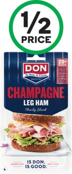 Don-Sliced-Meats-180-250g-From-the-Fridge on sale